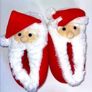 Target Santa Clause Slippers Size L 9-10